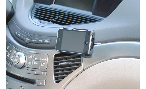 Pro.Fit VSM G3 VSM G3 with miCRADLE 3G with iPhone 3G (Shown in Subaru Tribeca)