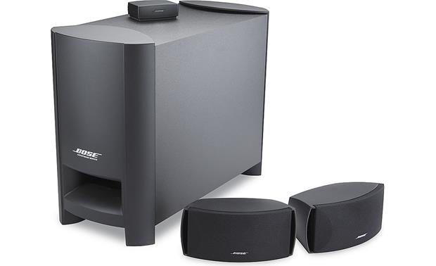 Bose cinemate series ii digital home theater speaker system at bose cinemate series ii digital home theater speaker system front sciox Choice Image