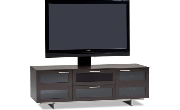 BDI Avion 8927 Series II Espresso Finish - left front view (TV and components not included)