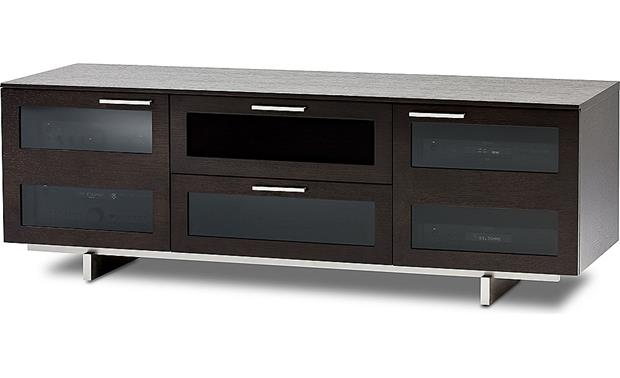 BDI Avion 8927 Series II Espresso Finish - right front view (components not included)