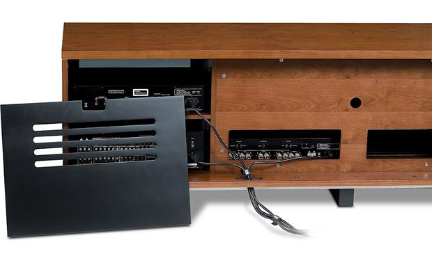 BDI Avion 8929 Series II Natural Cherry - back panel and cable managment (components not included)