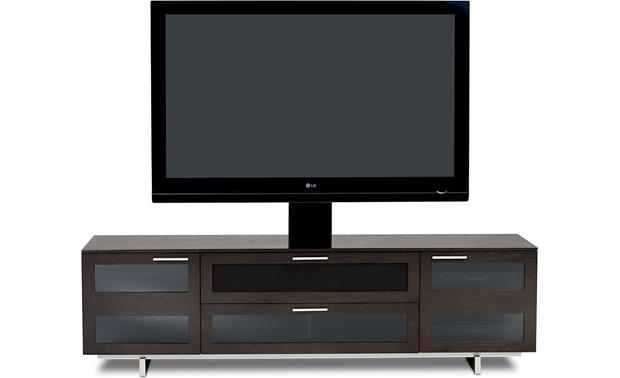 BDI Avion 8929 Series II Espresso with optional Arena mount (TV and components not included)
