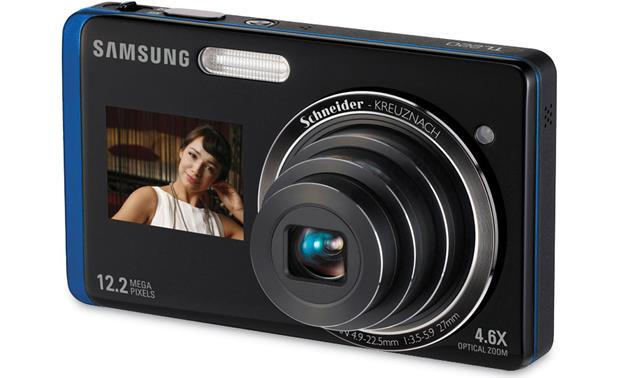 Samsung TL220 Black with blue trim
