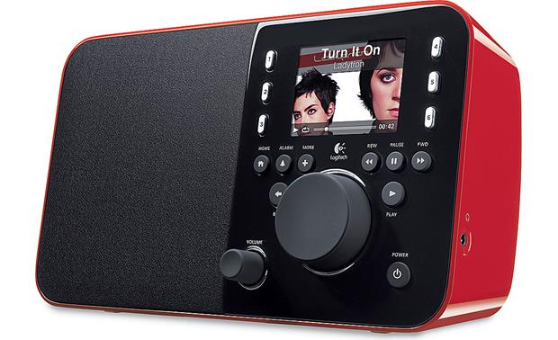 logitech squeezebox radio red plays music from the internet and rh crutchfield com Logitech Squeezebox Wi-Fi Logitech Squeezebox Operations Manual