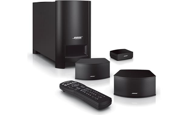 Bose® CineMate® GS Series II digital home theater speaker system Front