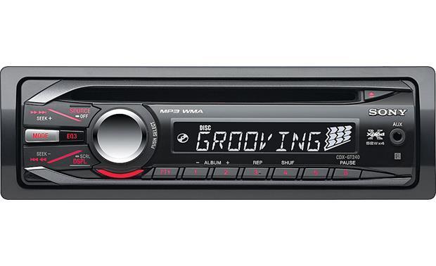 Sony CDX-GT240 CD receiver at CrutchfieldCrutchfield
