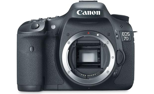 Canon EOS 7D (no lens included) Front