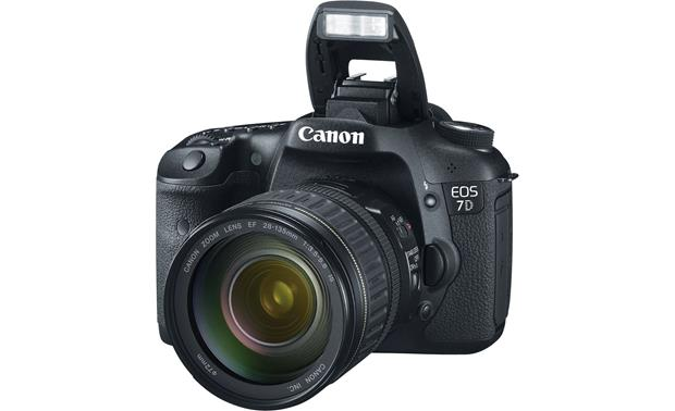 Canon EOS 7D Kit With flash extended