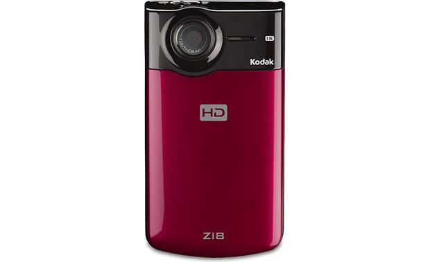 kodak zi8 raspberry hd pocket video camera at crutchfield com rh crutchfield com Kodak PlaySport Kodak Waterproof Camera