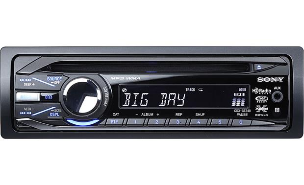 sony cdx-gt340 front
