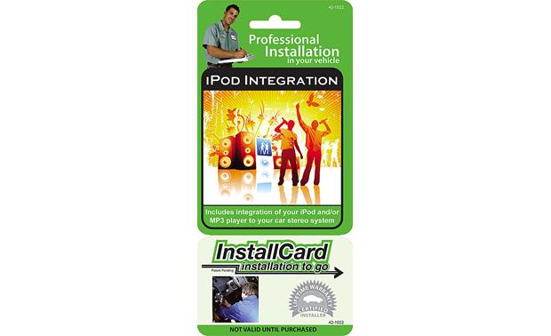 InstallCard: iPod®/MP3 Interface Front