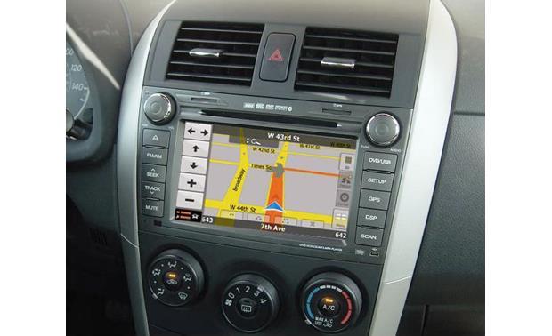 toyota corolla with navigation
