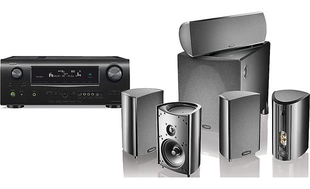 Denon and Definitive Technology Home Theater Bundle Front