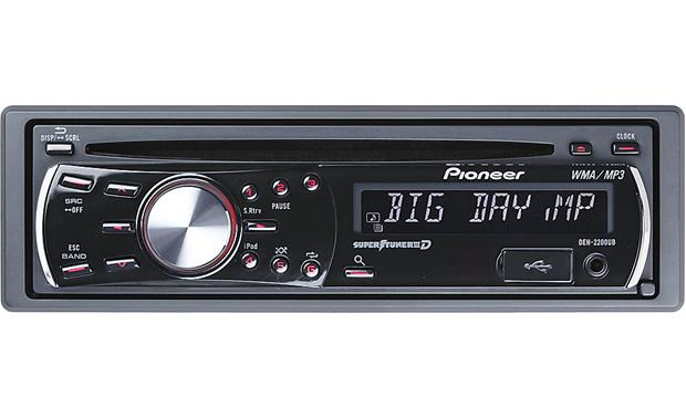 pioneer deh 2200ub cd receiver at crutchfield com rh crutchfield com pioneer deh-2200ub wiring diagram stereo pioneer deh-2200ub manual