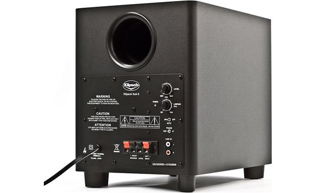 Klipsch HD Theater 300 Back, sub