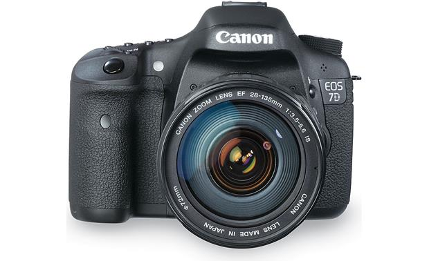 Canon EOS 7D Kit Front, straight-on