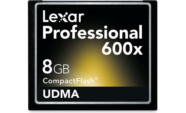 Lexar Professional Series 600X CompactFlash® Card Front