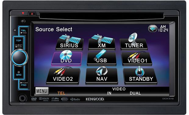 kenwood ddx516 dvd receiver at crutchfield com rh crutchfield com Kenwood Instruction Manual Kenwood Manuals DNX9960
