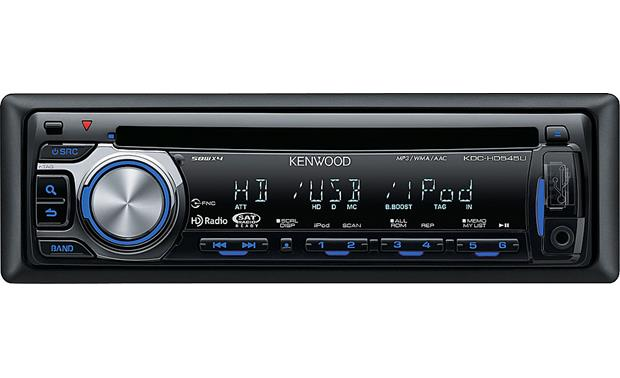 Kenwood KDC-HD545U Front