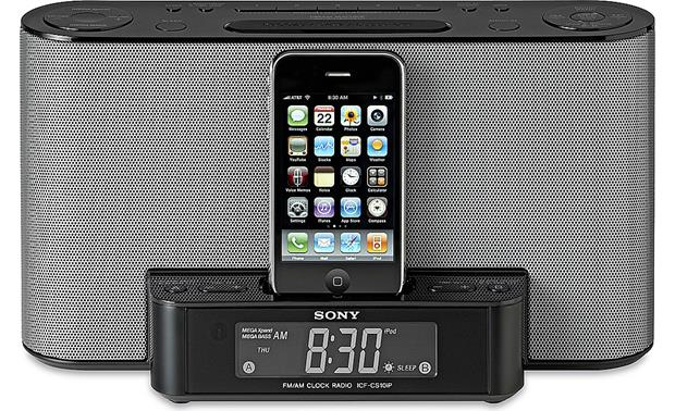 sony icf cs10ip clock radio with built in ipod iphone dock at rh crutchfield com Power Cord Sony ICF Cs10ip Sony ICF Cs10ip Remote