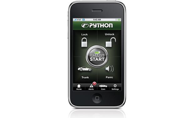 Python DSM100 Use your iPhone to start your car