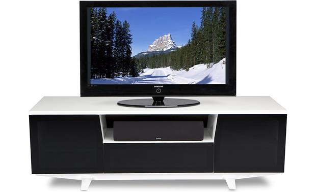 BDI Marina 8729-2 Gloss White (TV and components not included)