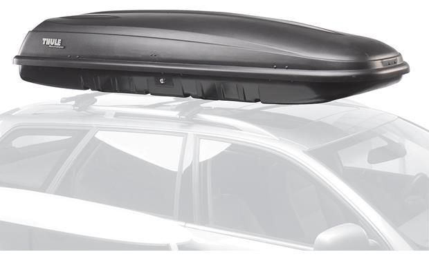 Thule 669es Mountaineer Es Cargo Box Time Travel Series Cargo Carrier At Crutchfield