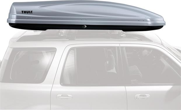 Thule Atlantis 2100 Cargo Carrier Silver Holds Up To 21 Cubic Feet Of Cargo At Crutchfield