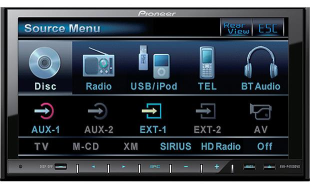 pioneer avh p4100dvd dvd receiver at crutchfield com rh crutchfield com pioneer avh-p4100dvd manual portugues pioneer avh-p4100dvd manual