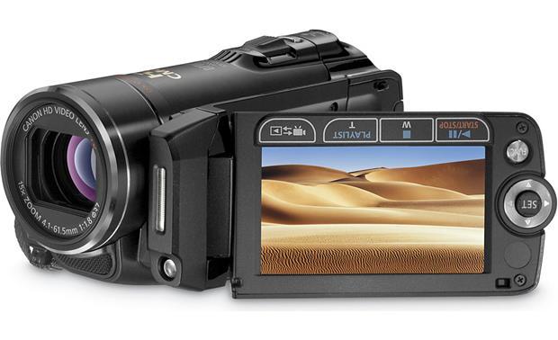 canon vixia hf20 32gb high definition flash memory sdhc memory card rh crutchfield com Canon Vixia HF100 Canon HF 20