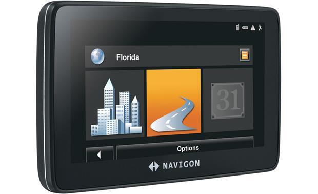 NAVIGON® 7200T Portable navigator with free traffic