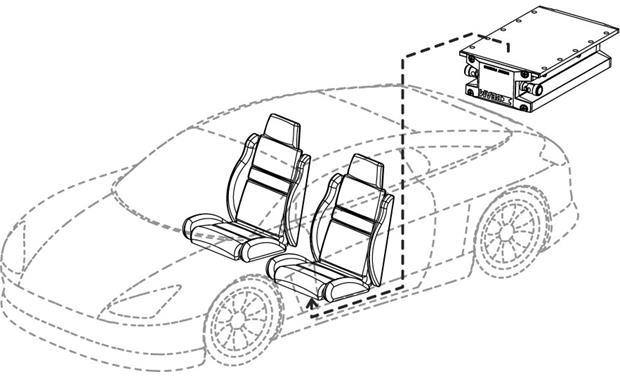 Rockford Fosgate Ibeam Ib 200 Tactile Transducer