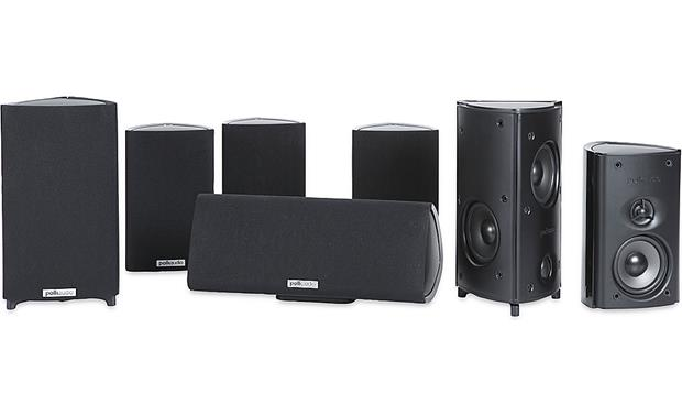 Polk Audio RM87 Home Theater Speaker System Front
