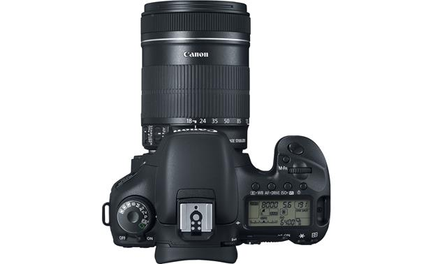 Canon EOS 7D Kit Top