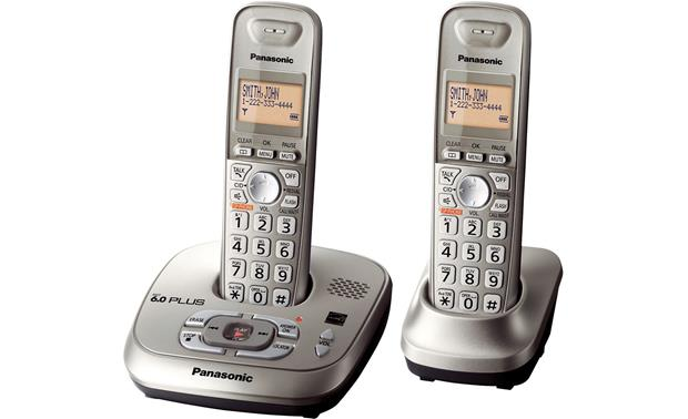 panasonic 6 0 plus manual kx tga402 free owners manual u2022 rh infomanualguide today 6 Cordless Phone Handsets Business Phone Expandable Handsets