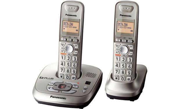 panasonic kx tg4022n expandable cordless phone system with answering rh crutchfield com Panasonic KX- TG4222N Panasonic Kx Tga20