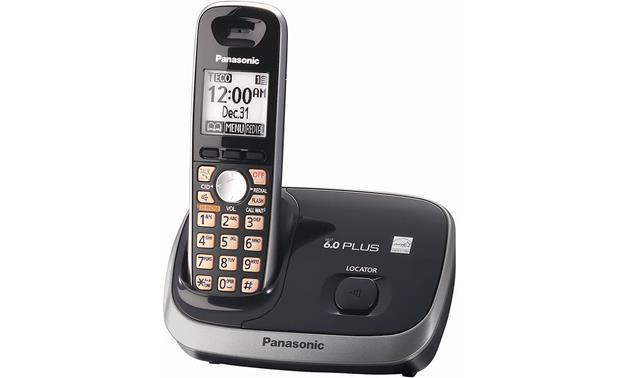 panasonic kx tg6511b expandable cordless phone system with caller id rh crutchfield com Cordless Phone Panasonic Kx Tg6541 Manual