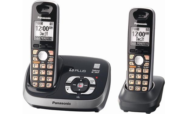 panasonic kx tg6532 expandable cordless phone system with talking rh crutchfield com panasonic kx-tga652 manual panasonic kx tga652 user manual