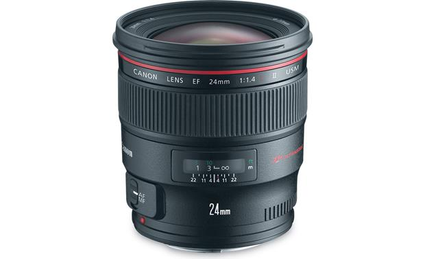 Canon EF 24mm f/1.4L II USM Front