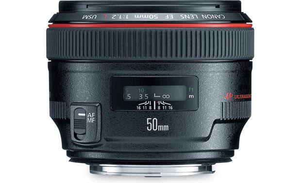 Canon EF 50mm f/1.2L USM Front