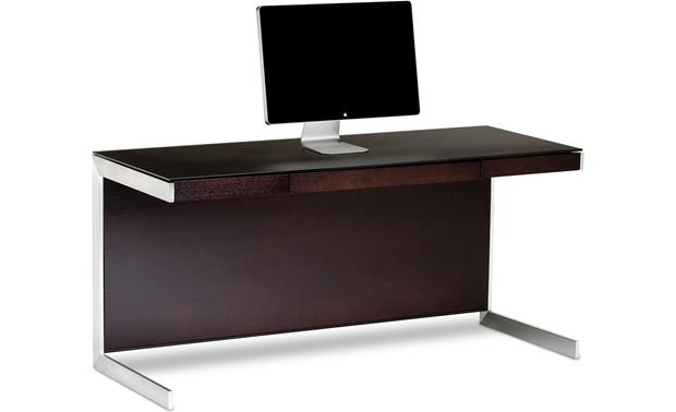 BDI Sequel 6001 Desk Espresso (computer not included)