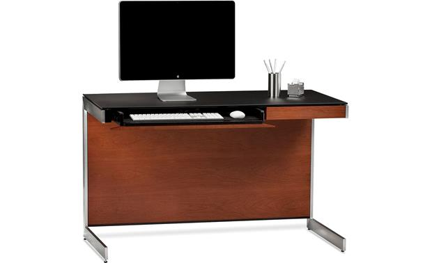 BDI Sequel 6003 Compact Desk Natural Cherry (computer and office supplies not included)