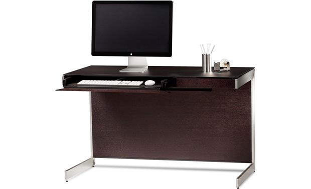 BDI Sequel 6003 Compact Desk Espresso (computer and office supplies not included)