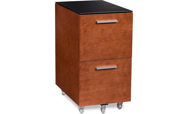 BDI Sequel 6005 Tall Mobile File Pedestal Natural Cherry