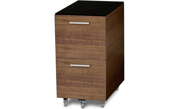BDI Sequel 6005 Tall Mobile File Pedestal Walnut
