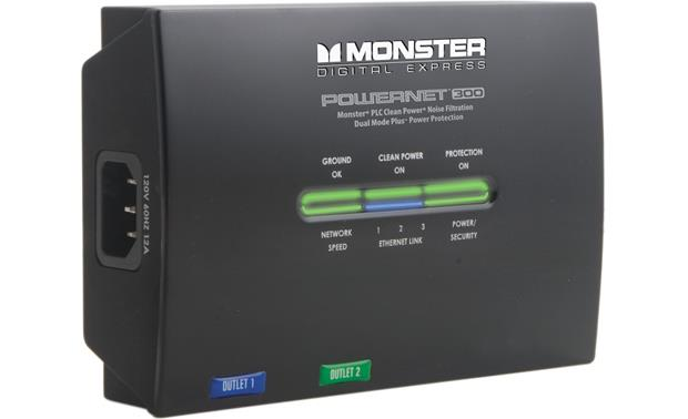 Monster® PowerNet™ 300 Expansion Module Front