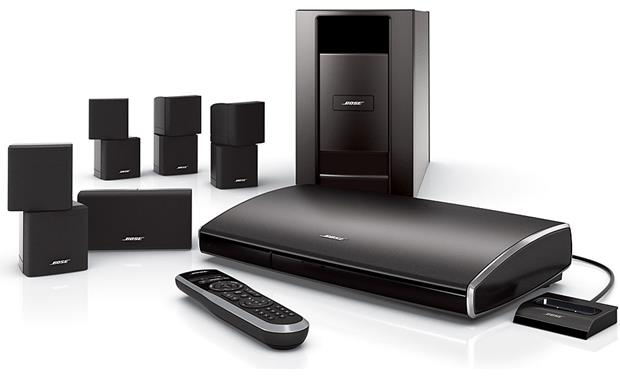 Bose® Lifestyle® V25 home entertainment system Front
