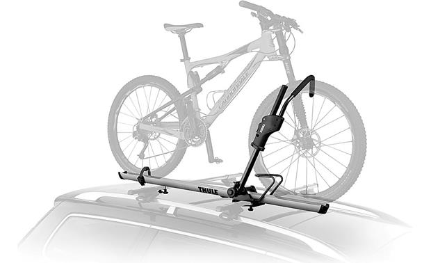 Thule 594xt Sidearm Bike Rack Single Bike Carrier At Crutchfield Com