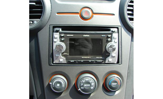 Metra 95-7329 Dash Kit Kit installed