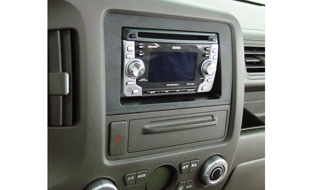 Honda Ridgeline In-dash Receiver Kit Kit installed